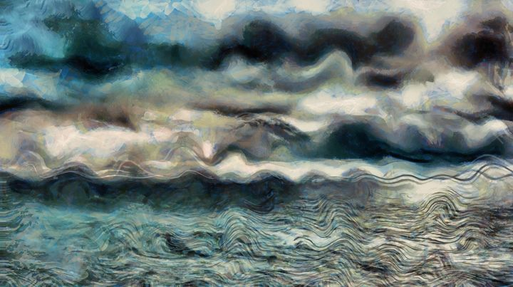 Sea and Sky - Chris Bradbury Art