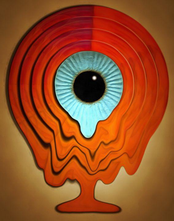 Evil Eye - Chris Bradbury Art