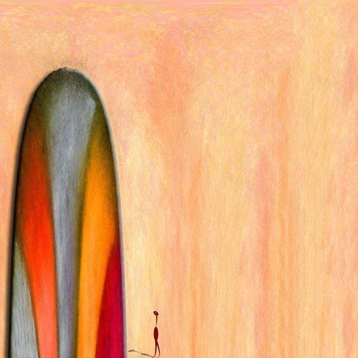 A Different God - Chris Bradbury Art