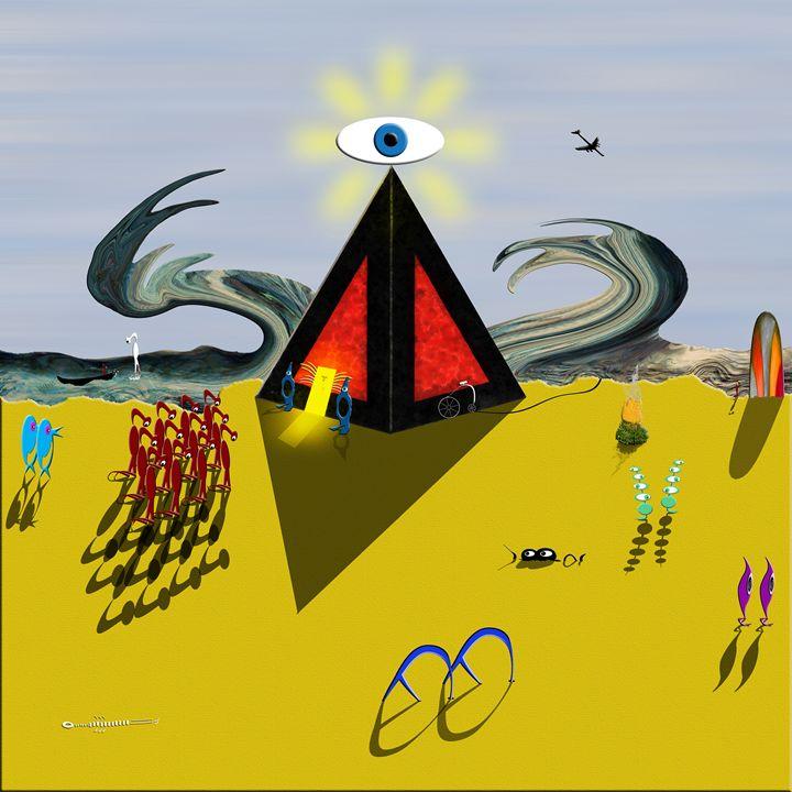 Prophet Warning - Chris Bradbury Art