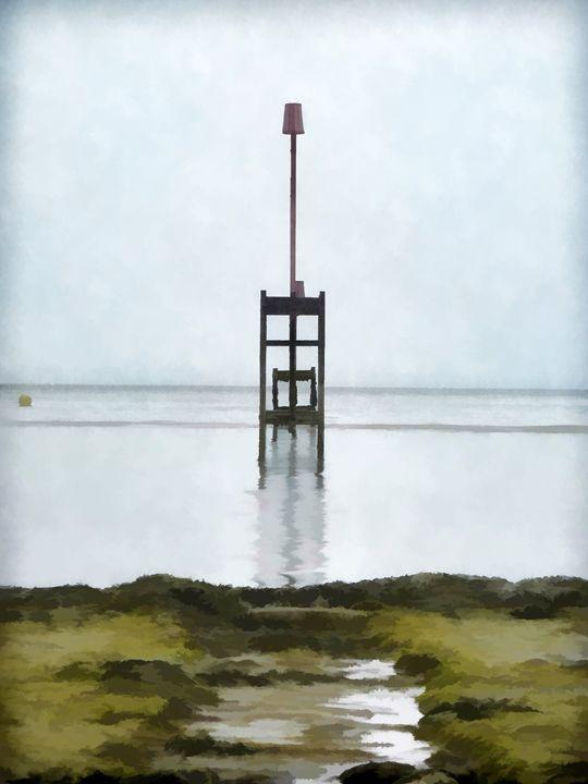 Low Tide - Chris Bradbury Art