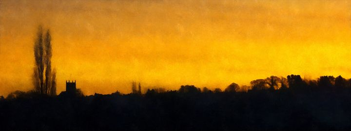 Cawthorne Dawn - Chris Bradbury Art