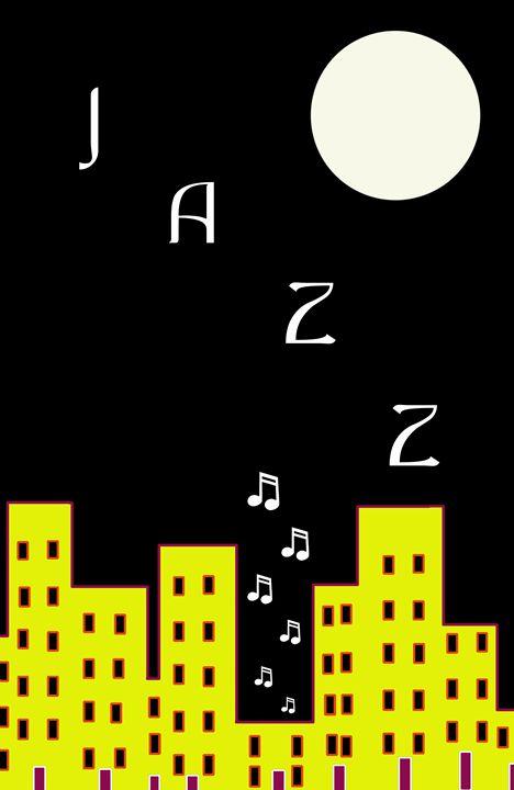 Jazz Number 7 - Chris Bradbury Art