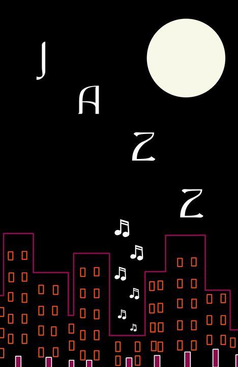 Jazz (pinkline) - Chris Bradbury Art