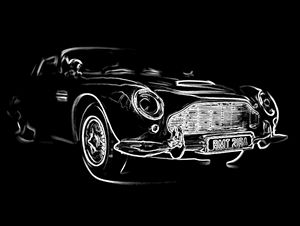 BMT 216A (white line) - Chris Bradbury Art