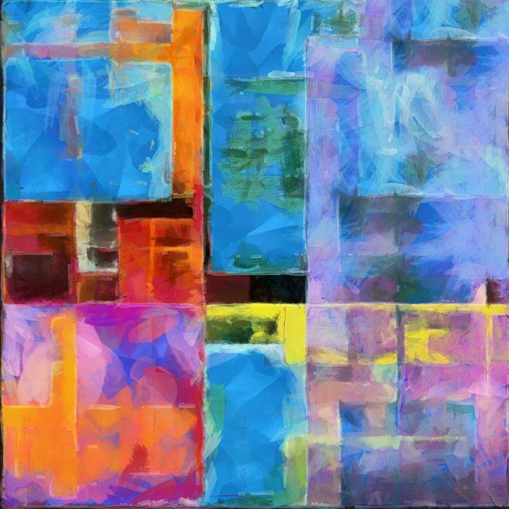 The Suburban Dream - Chris Bradbury Art