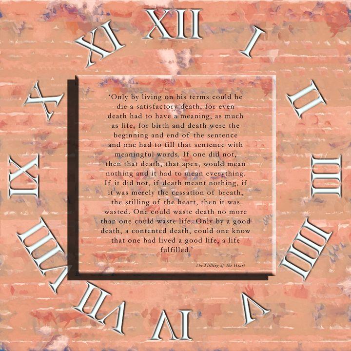 Statement (Countdown) - Chris Bradbury Art