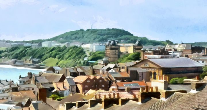 Scarborough Front - Chris Bradbury Art