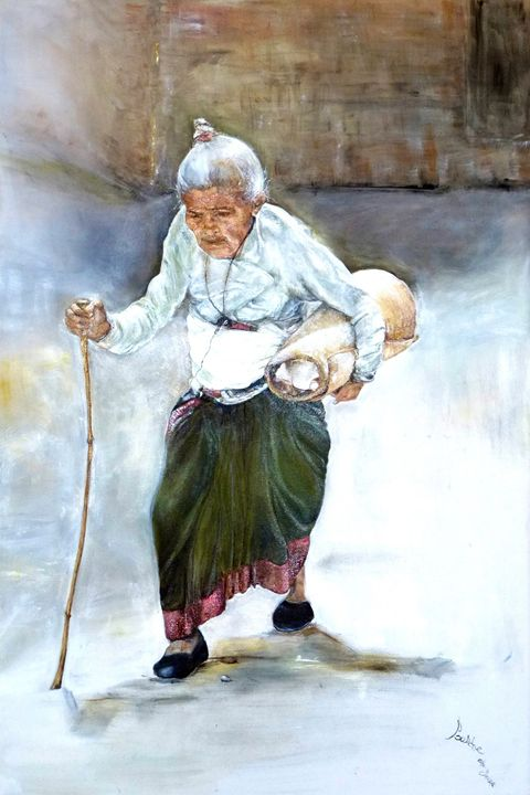 The Old Woman - Art2DrClaire