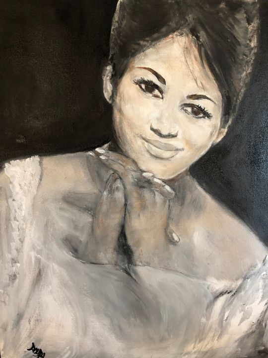 Young Aretha - Art2DrClaire