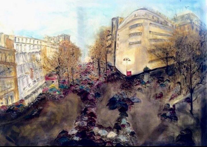 Umbrella City - Art2DrClaire.info