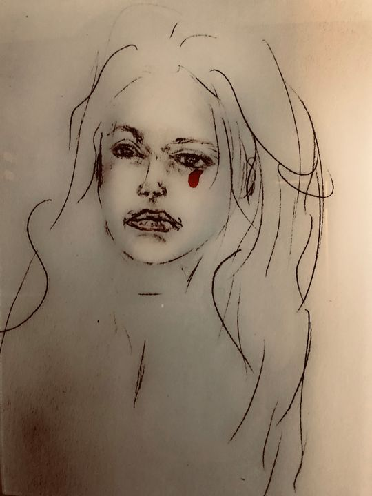Red Tear - Art2DrClaire