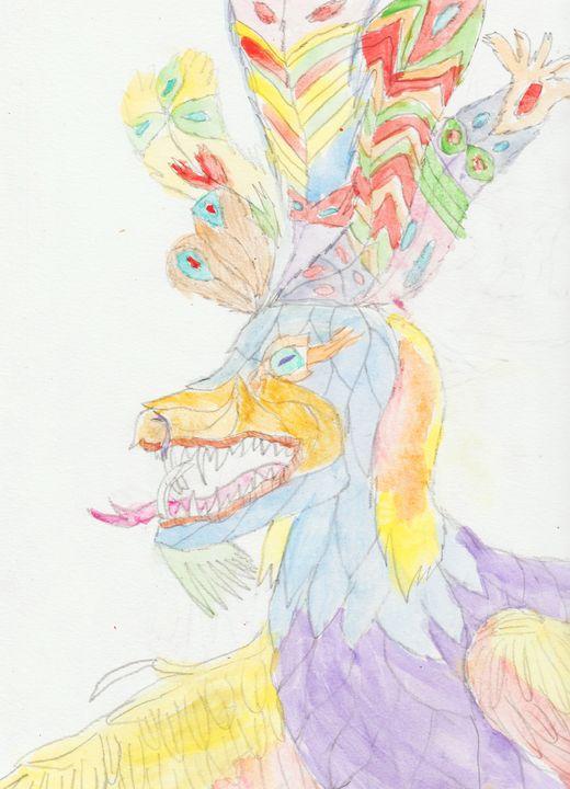 Purple Dragon - Olivia's Imagination Station