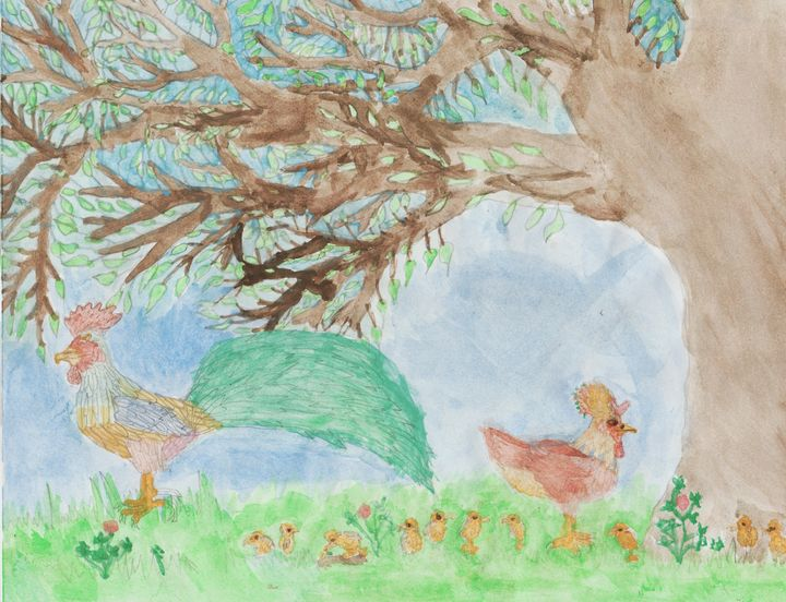 Hens and Chicks - Olivia's Imagination Station
