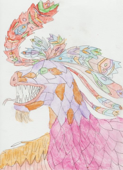 Pink Dragon - Olivia's Imagination Station