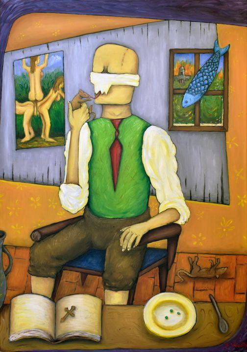 Blind beliver - Ana Valentim Artworks