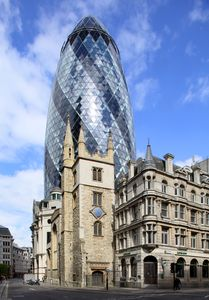 The Gherkin, London