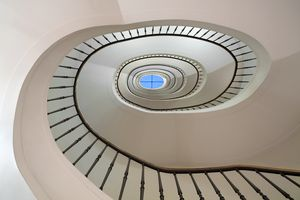 Elliptical Spiral Staircase
