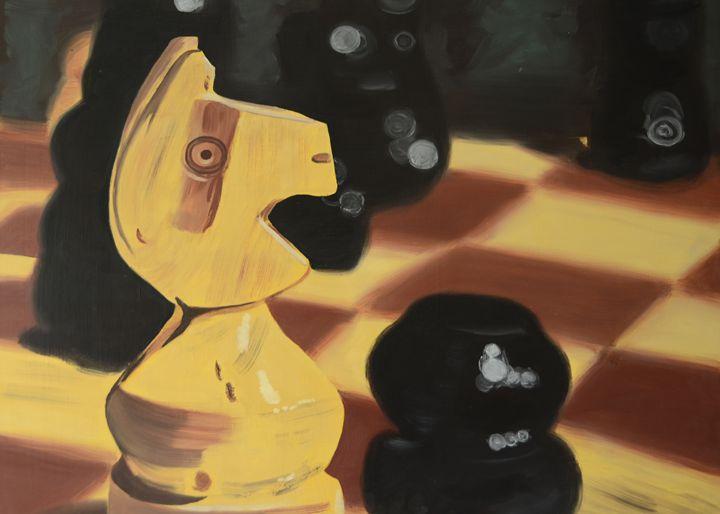 Knight - Ann Francois Art