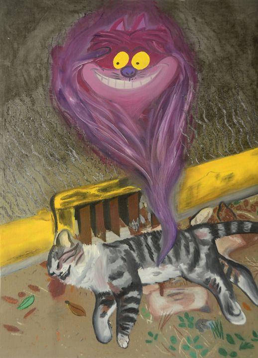 The Cheshire Cat - Ann Francois Art