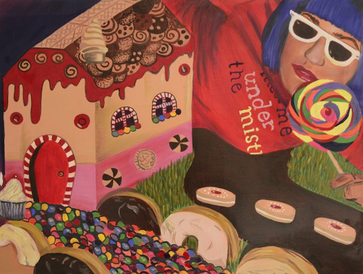 Candy Land - Ann Francois Art