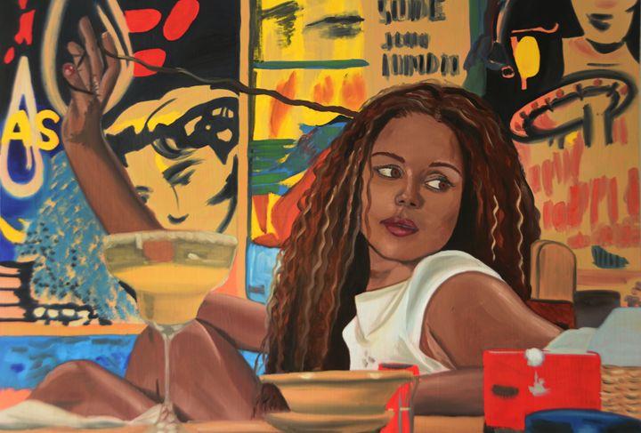 Jungle Julia - Ann Francois Art