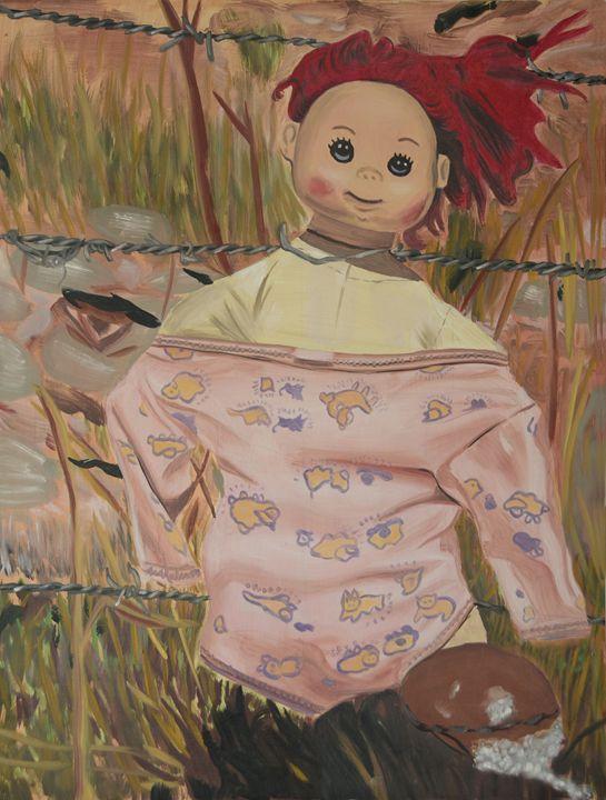 Rag Doll - Ann Francois Art