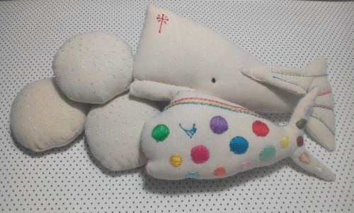 """""""five loaves of bread and two fish"""" - Handmade Dolls"""