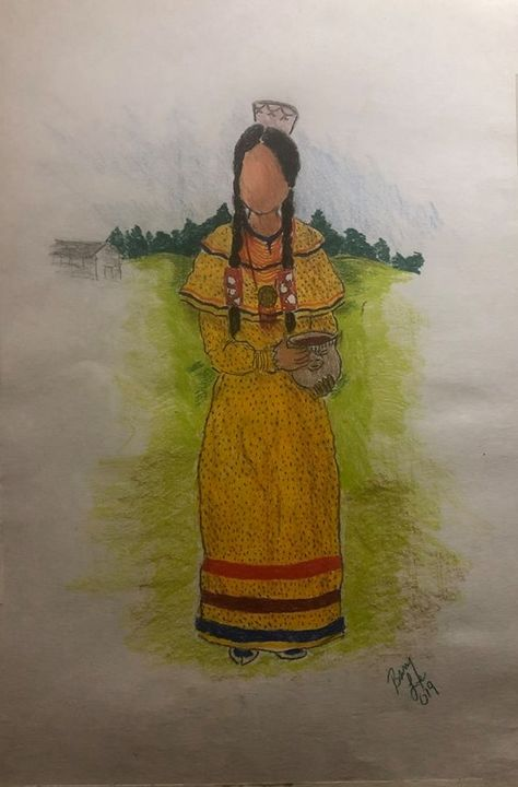 Lenape Woman - Spirit Wing Arts and Music
