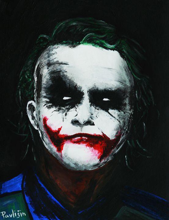 Joker Heath Ledger - HanDraw Lukas P