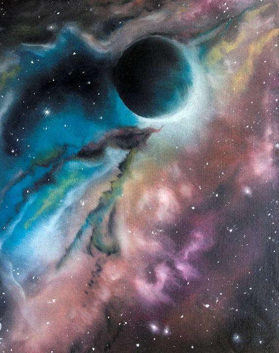 Black hole - LukasPavlisin