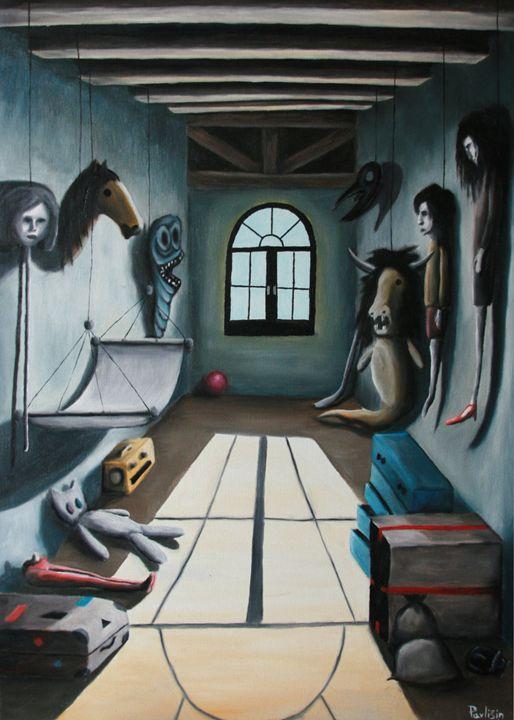 Attic room - Lukas Pavlisin