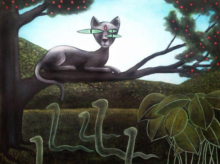Super cat - HanDraw Lukas P
