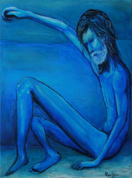 Blue man - Lukas Pavlisin