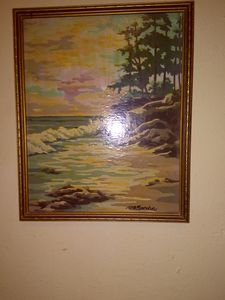 Alcove oil painting
