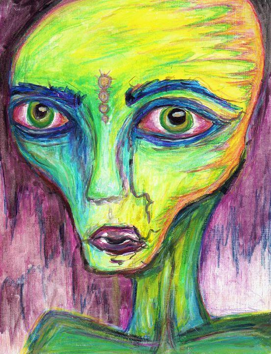 Alien - Natalie Marie's Art and Things