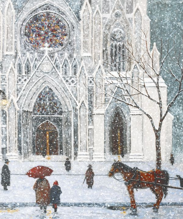 Sunday at Saint Patricks Cathedral - Sunflower Fine Art Galleries, Mirrors, and  Pictur