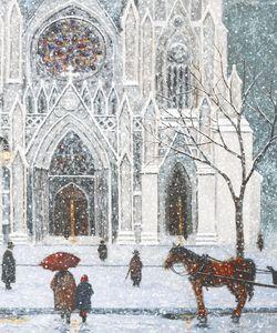 Sunday at Saint Patricks Cathedral