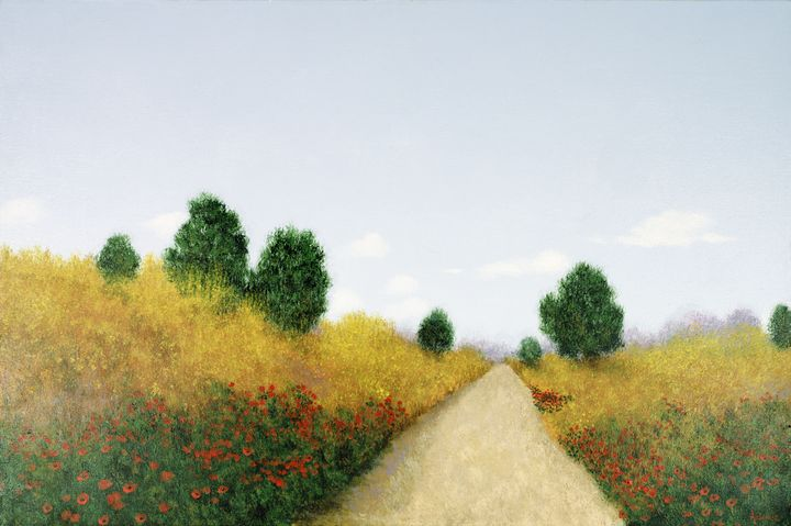 Tuscan Road - Sunflower Fine Art Galleries, Mirrors, and  Pictur