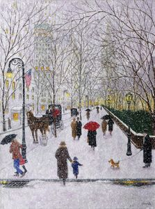 Winter on Fifth Ave. 3