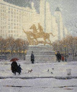 Winter Walk to The Plaza