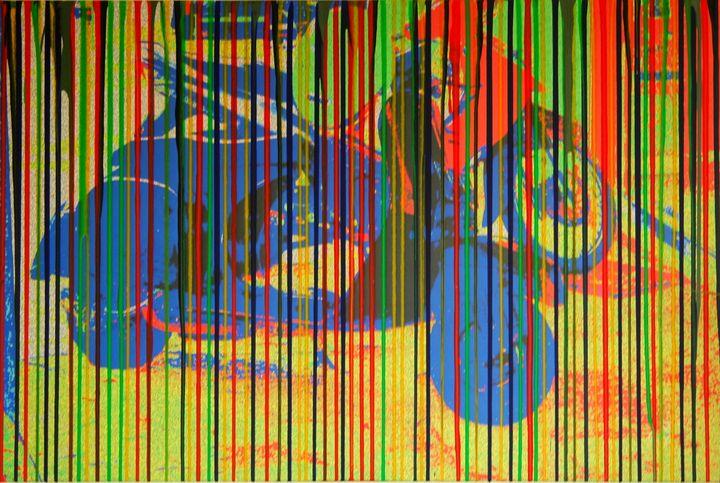Bikers gang - Conrad Bloemers