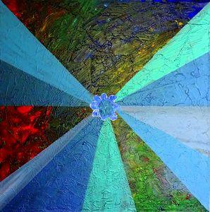 Evolution in blue - Conrad Bloemers