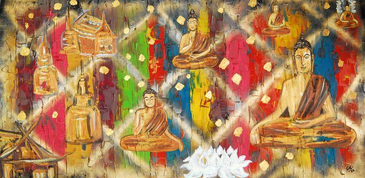 Buddha temple in peace - Conrad Bloemers
