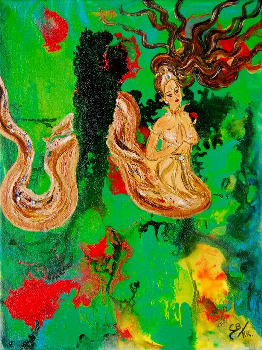 Diamond snake lady (kr) - Conrad Bloemers
