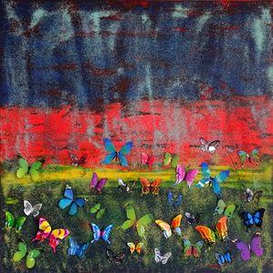 Butterfly orgie