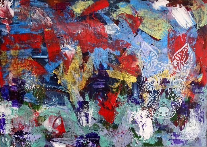 Graffiti dog - Conrad Bloemers
