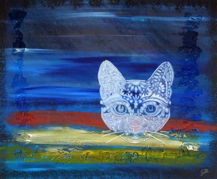 Graffiti cat - Conrad Bloemers