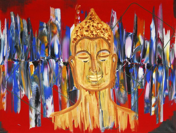 SOLD Urban Buddha - Conrad Bloemers