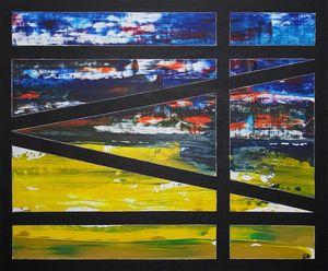Aquaduckts (framed painting)